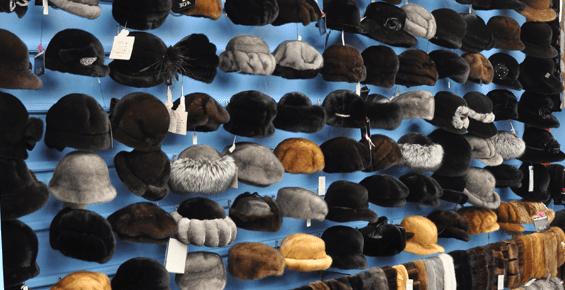 Fur Hat Selection